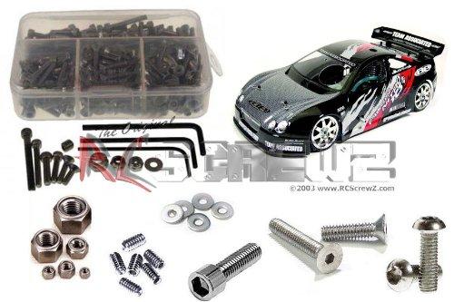 RC Screwz Stainless Steel Screw Kit for Associated Nitro TC3 (Metric) #ass002m