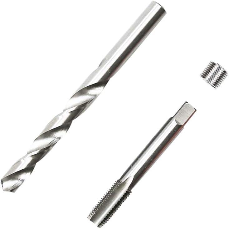 M12 x 1.5 mm Metric Thread Repair Insert Kit Compatible Hand Tool Set for Auto Repairing M12X1.5 Highking Tool Thread Repair Kit