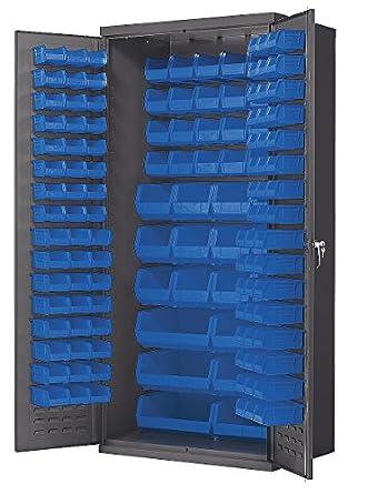 Akro-Mils AC3624B Steel Door Bin Cabinet 138 Bins 36u0026quot; x 24u0026quot  sc 1 st  Amazon.com & Amazon.com: Akro-Mils AC3624B Steel Door Bin Cabinet 138 Bins 36 ... pezcame.com