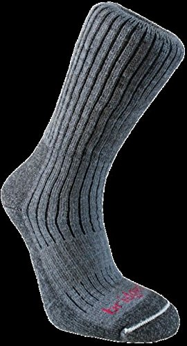 Bridgedale Men's Merinofusion Trekker Socks, X-Large, Charcoal ()