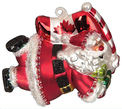 Buy scottish christmas super santa canada ornament