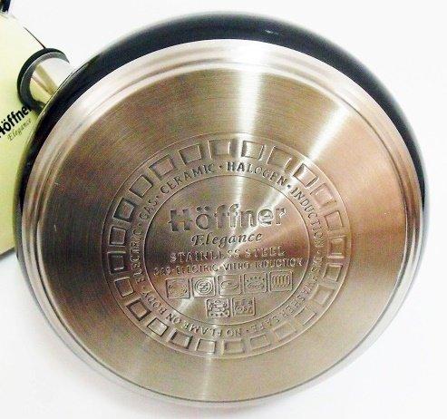 Hervidor de agua de 2 L de acero inoxidable para plata/negro ...