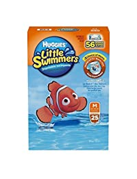 Huggies Little Swimmers Disposable Swimpants Medium - 25 Pair Swimpants plus bonus 56 Wipes BOBEBE Online Baby Store From New York to Miami and Los Angeles