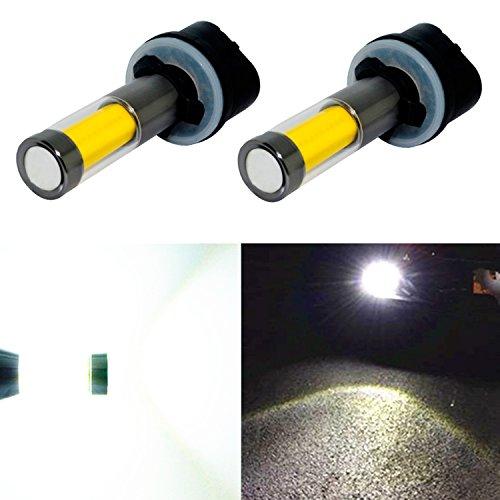 Alla Lighting Xtreme Super Bright Led 880 899 Fog Light Bulbs High Power Cob Universal 880 Led Bulb Fog Lights Lamp Replacement 6000k Xenon White