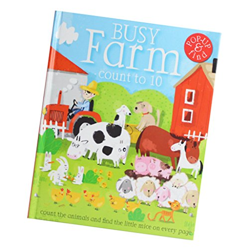 Fityle 3D Pop Up Books for Kids Boys Girls (Story Book, Baby Book, Children's Book) - A busy farm by Fityle