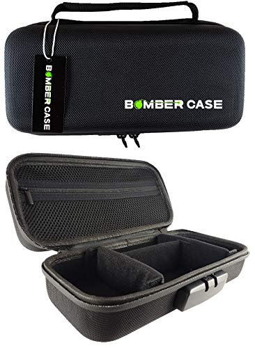 (BOMBER CASE - Stash Case - Locking - Smell Proof - Customizable Padded Interior - Fits up to 9.5