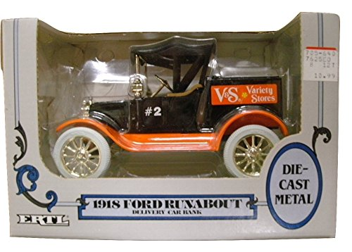 ERTL 1918 Ford Runabout Delivery Car Bank #2