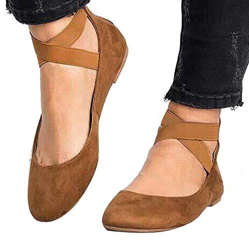 Womens Slip On Flexi Work Shoes Comfort Ballet Pumps Ballerinas Elastic Straps
