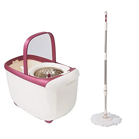 Trapeador THBEIBEI Spinning Mop and Bucket Cleaning Set Funda con ...