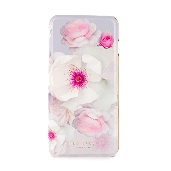 release date 0ff26 2a7f7 Ted Baker - Mirror Folio Case for iPhone 6/6s/7/8 Plus- ELEASSE - Chelsea  Grey