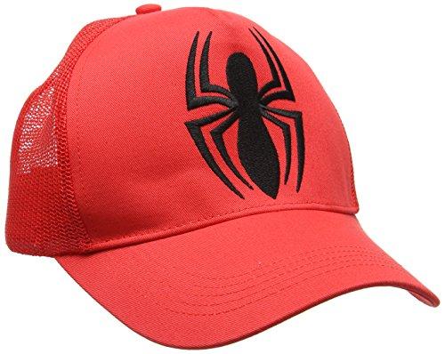 Logo de Adulto Rosso Marvel Talla única Béisbol Man Unisex Spider Gorra EgIUZ1pq