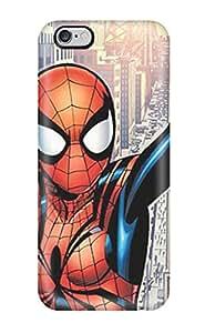 High Grade AnnaSanders Flexible Tpu Case For Iphone 6 Plus - Spidergirl Comics Anime Comics
