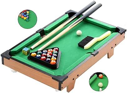 Mesa de billar Mini mesas de Billar Inicio Mini Niños Juegos ...