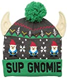 Wembley Men's Christmas  Hat, Charcoal/Green, One Size