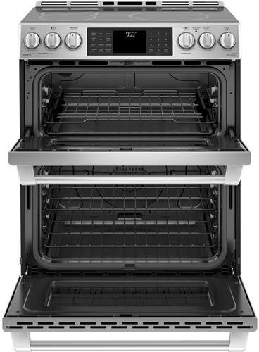 Buy stainless double oven electric ranges