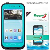Redpepper Samsung Galaxy S4 9500 Waterproof Dirtproof Snowproof Shockproof Case for Christmas Presents (Light Blue)