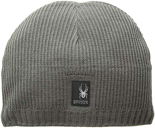 - Spyder Men's Bug Button Hat, Polar/Black, One Size