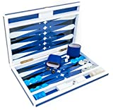 """Studio 54 New York Deluxe Lacquered Backgammon Set 18"""" Review"""