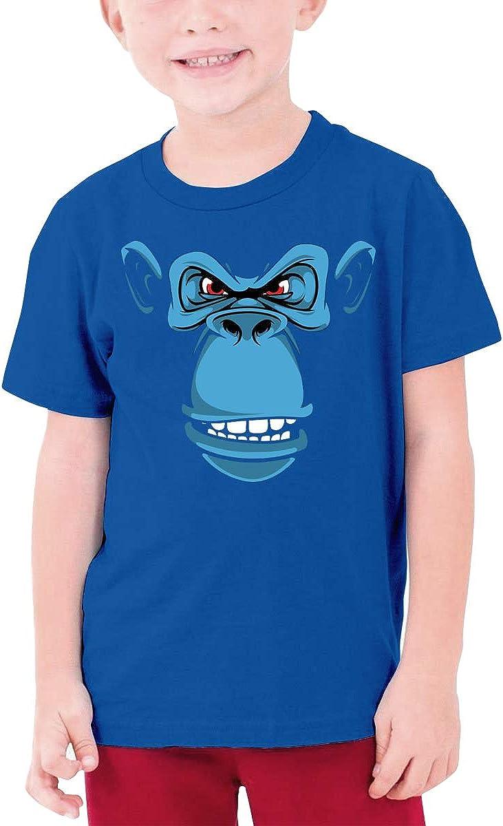 QIMING SHIPPING Blue Orangutan Teenage T-Shirt,Boys T-Shirts,Girls T-Shirts S-XL