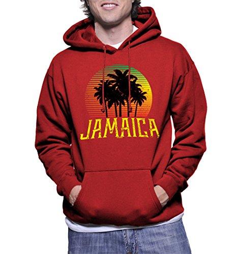 Mens Jamaica Coconut Hoodie Sweatshirt