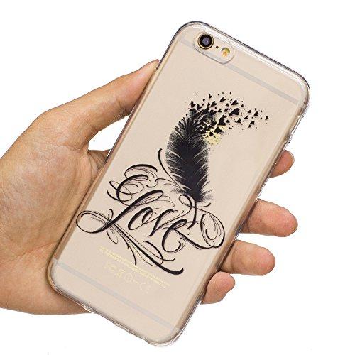 iPhone 6 / 6S Plus Custodia , Leiai Moda Orso Silicone Morbido TPU Cover Case Custodia per Apple iPhone 6 / 6S Plus