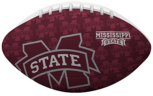 Rawlings NCAA Mississippi State Bulldogs Junior Gridiron Football, Red