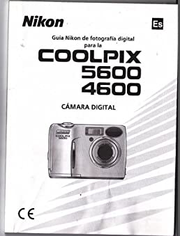 nikon coolpix 5600 4600 spanish instruction manual nikon rh amazon com nikon coolpix e4600 manual nikon coolpix 4600 user manual