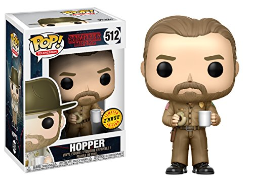 Funko Pop Stranger Things Jim Hopper CHASE Variant Vinyl Fig