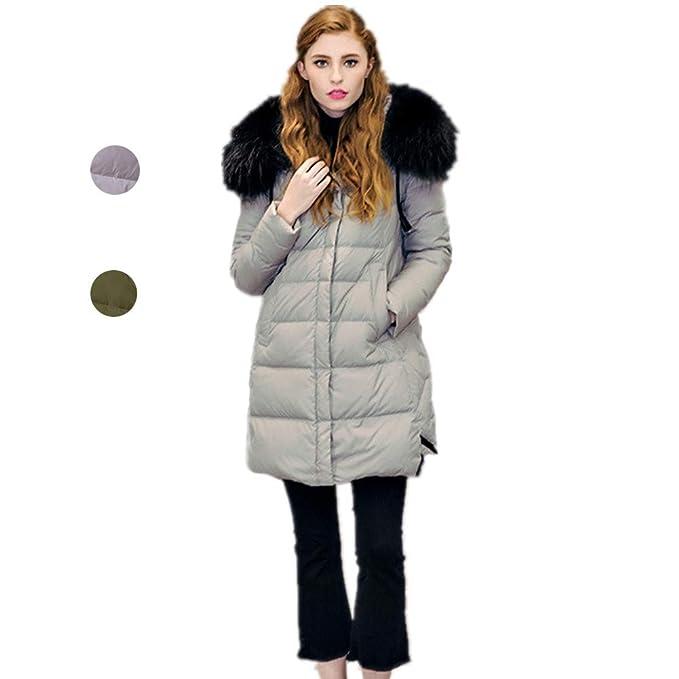 SIMPLE H SIMPLE Frauen leichte Winter Daunenjacke mit Kapuze