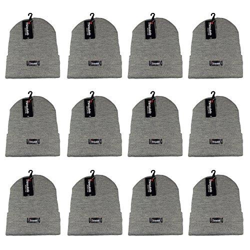 Grey Casual Hats - 8