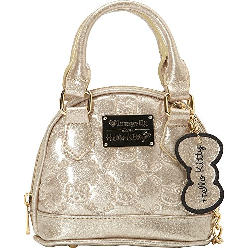 42dc5e428d Loungefly Hello Kitty Gold Glitter Micro Dome Bag Gold-Glitter - Buy Online  in UAE.
