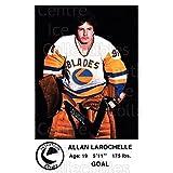 Allan Larochelle Hockey Card 1983-84 Saskatoon Blades #23 Allan Larochelle