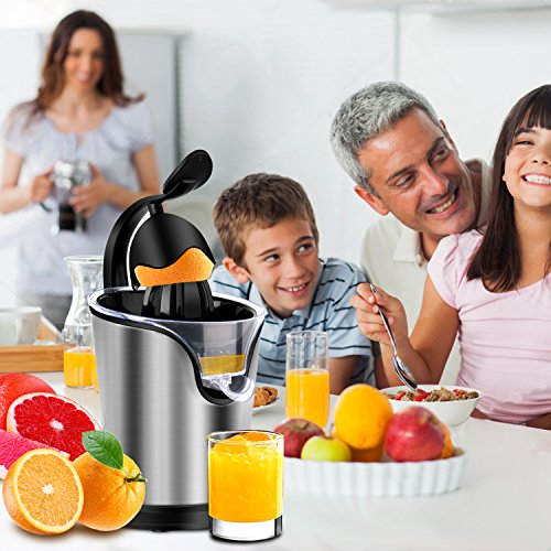 SOWTECH Citrus Juicer Stainless Steel Electric Orange Citrus Juicer Extractor Pulp Control Squeezer Machine [Ultra Quiet] [Precision of a Hand-Press] with The Direct Drive Motor by SOWTECH (Image #7)