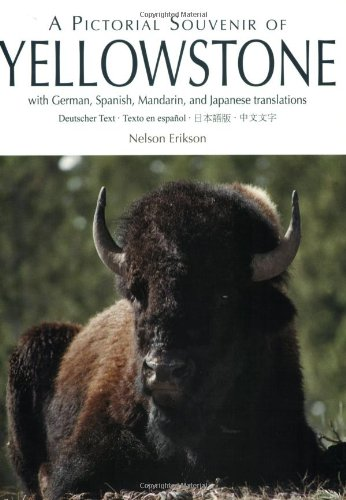 Pictorial Souvenir of Yellowstone, A: With German, Spanish, Mandarin and Japanese (English, German, Spanish, Mandingo and Japanese Edition)