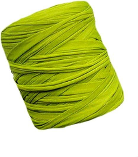 Ovillo de hilo de algodón para camiseta, hilo de tela reciclada, hilo de tela para el hogar, hilo de ganchillo, hilo de cesta, hilo de tela de 600 g, una madeja: Amazon.es: