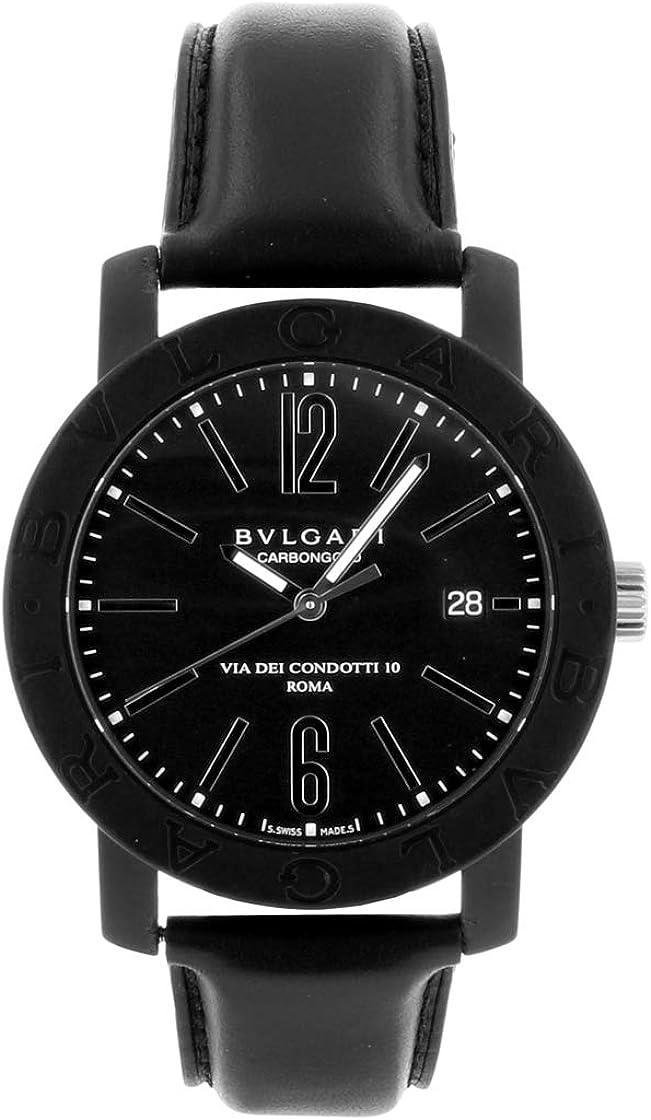 [ブルガリ] BVLGARI 腕時計 BBW40CGLD/BB40CL ブルガリブルガリ &カーボンファイバー/ブラックレザー [品] [並行輸入品]