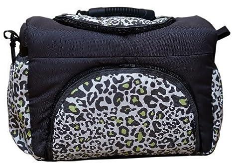 TK-29 bolsa cambiador con accesorios KIM de Baby-joy XXXL patrones de vestidos para tallas grafito LEO bolsa para pañales sucios cuidado bebé bolsa para: ...