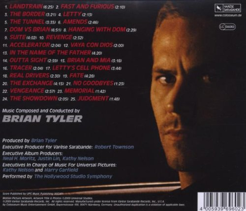 Brian tyler fast & furious 4 amazon. Com music.