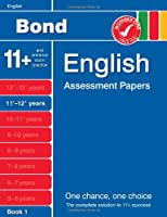 Bond English Assessment Papers 11+-12+ Years Book