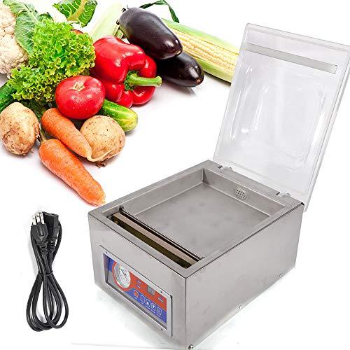 Vacuum Sealer Machine Commercial Kitchen Food Chamber Tabletop Seal Vacuum Packaging Machine Sealer 110V US Stock