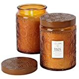 Voluspa Baltic Amber Large Glass Jar Candle Limited 16 oz