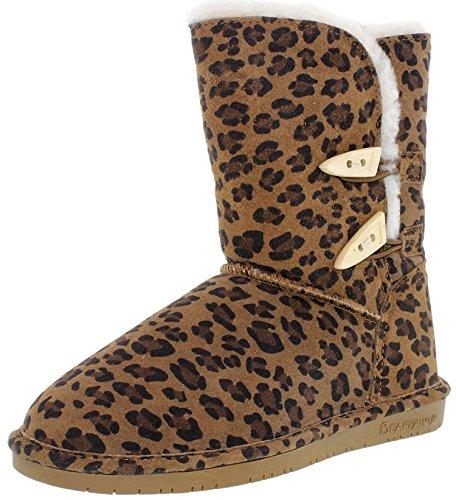 Leopard Hickory Leopard Delle Donne Di Stoffa Delle Strette
