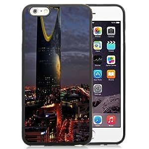 NEW Unique Custom Designed iPhone 6 Plus 5.5 Inch Phone Case With Saudi Arabia Riyadh City Night_Black Phone Case