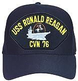 USS Ronald Reagan CVN-76 with Cowboy Ball Cap Hat