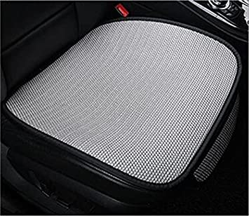 Auto Accessories PU leather edge full encircled anti-skid Car seat cushion Bamboo charcoal front seat cushion car Seat protection cushion (gray-b) CHIAE Shenzhen Ke Ley auto supplies Co. Ltd.