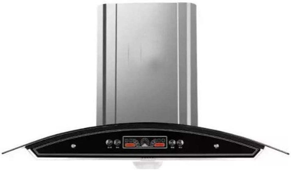 Campana extractora de cocina para uso doméstico de aspiración alta europea de acero inoxidable: Amazon.es: Hogar