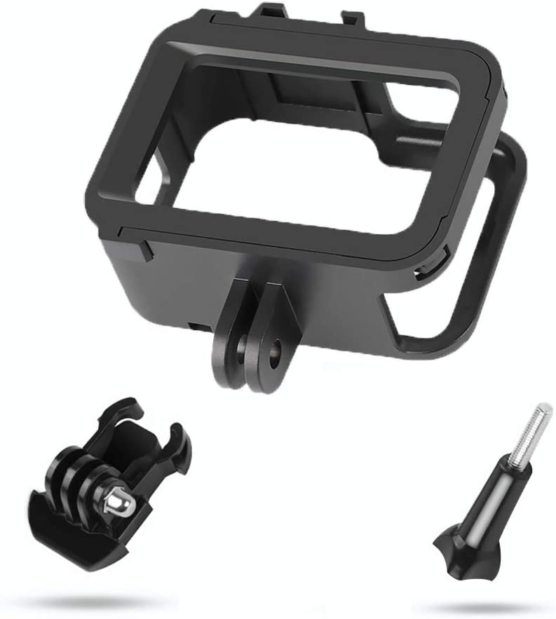 Yifant Housing Frame Cage for GoPro Hero 8 Black Camera Accessories Protective Shell Mount with Cold Shoe 1//4 Thread Connector
