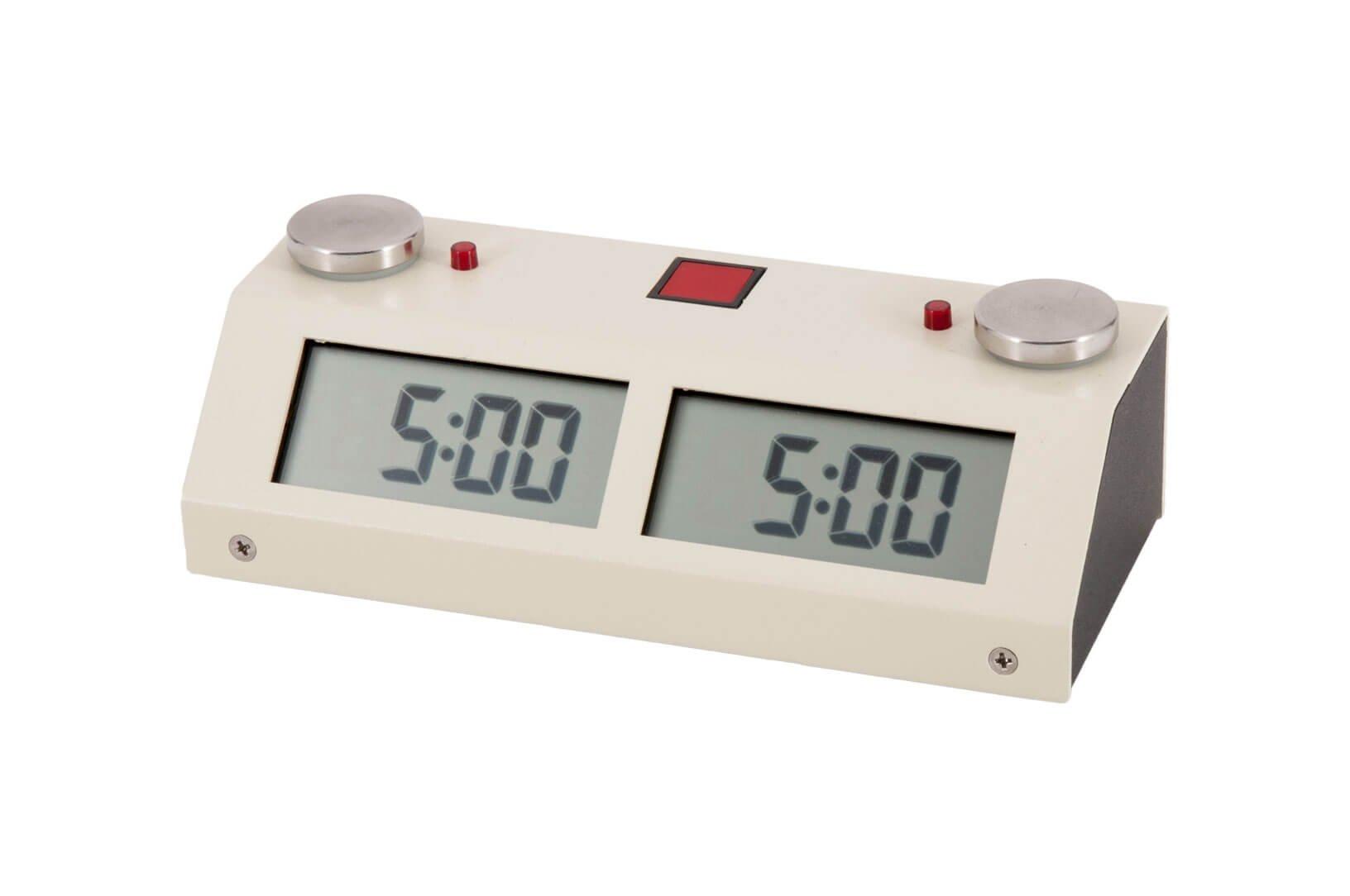 Chronos GX Digital Game Chess Clock - TOUCH - White