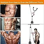 LXQ-Tricep-Rope-Rullo-da-Polso-Forza-Trainer-Avambraccio-Palestra-Puleggia-Body-BuildingDispositivi-Braccio-Forza-Trainer