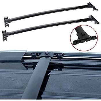 Amazon.com: Cross Bars Roof Rack Set Highlander 08 09 10 ...